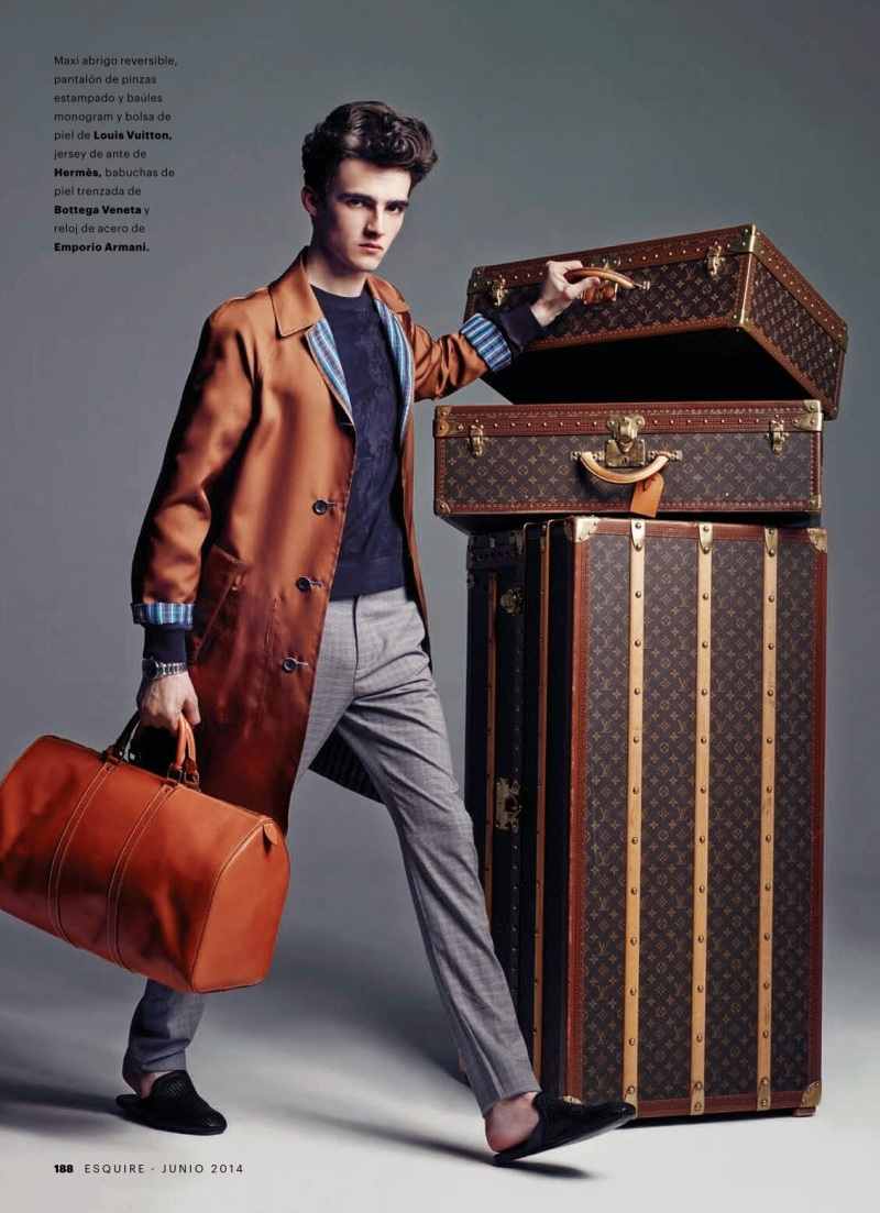 """HIT THE ROAD, JACK"" ELLIOT VULLIOD FOR ESQUIRE SPAIN BY MARCIN TYSZKA.7"