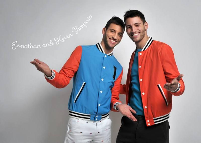 I LOVE models Jonathan and Kevin Sampaio