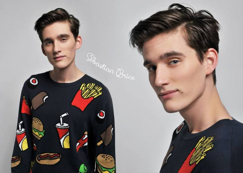 I LOVE models Sebastian Brice