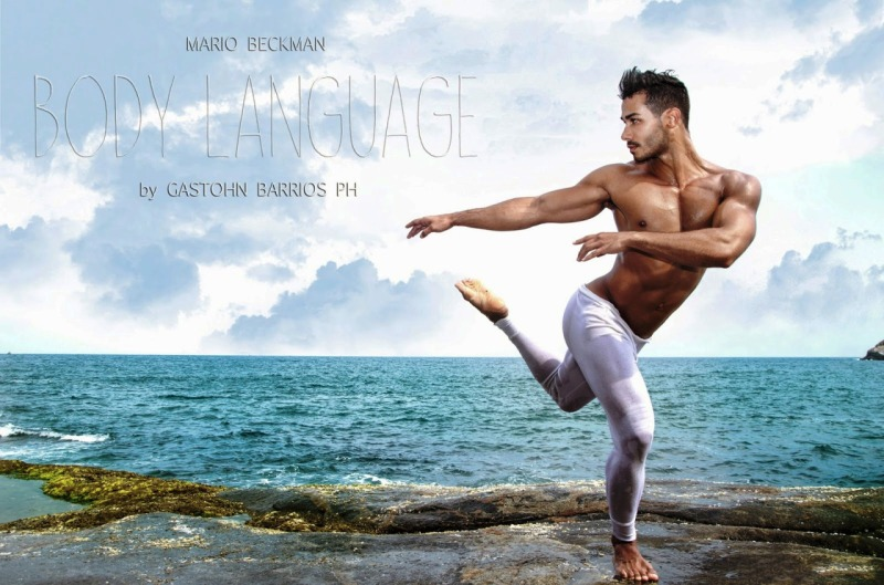 """Another sublime set by Photographer Gastohn Barrios with male model Mario Beckman in """"Body Language"""""""
