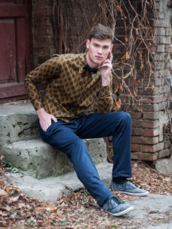 Fashion Outdoor Editorial With MISHA