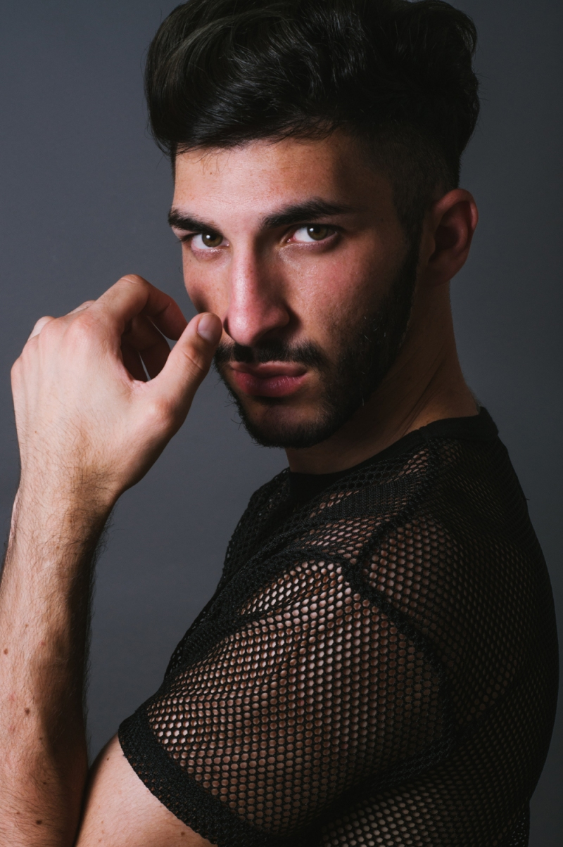 Meet hot new male model Manuel Colarusso by Ryan Del Espiritu Santo.