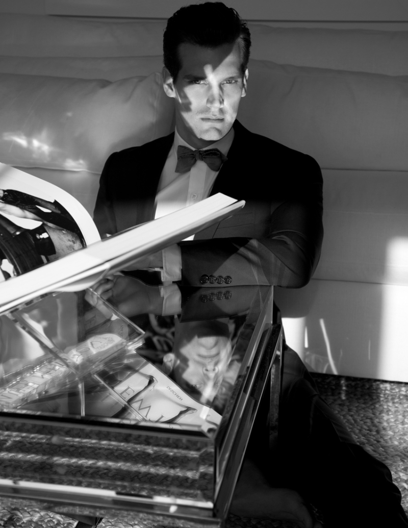 """""""Tailor Made"""" the new editorial for Man of Metropolis magazine with Sean Harju from Soul Model Management shot by master Karl Simone. Styled by Michael Fusco."""