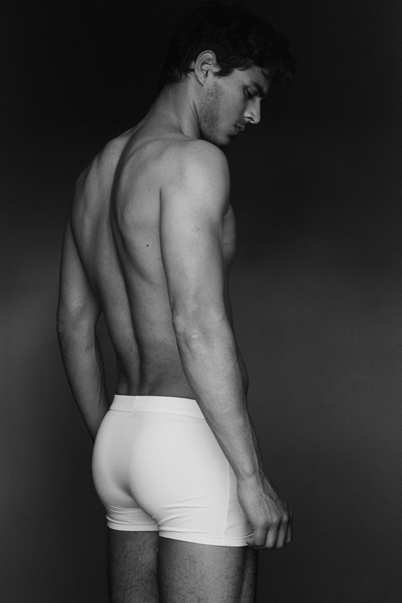 Steven Brocos by Miguel Zaragozá for Fashionably Male